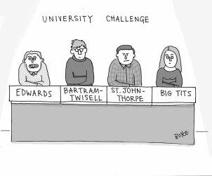 University ChallengeLR